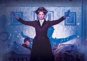 MARY POPPINS - Playing The Game - Zizi Strallen as Mary Poppins. Photo credit Johan Persson