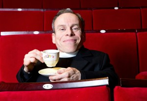 Warwick Davis, photographed at the Chruchhill Theatre in Bromley