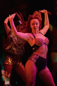 Georgia Carling in BAT OUT OF HELL - THE MUSICAL, credit Specular