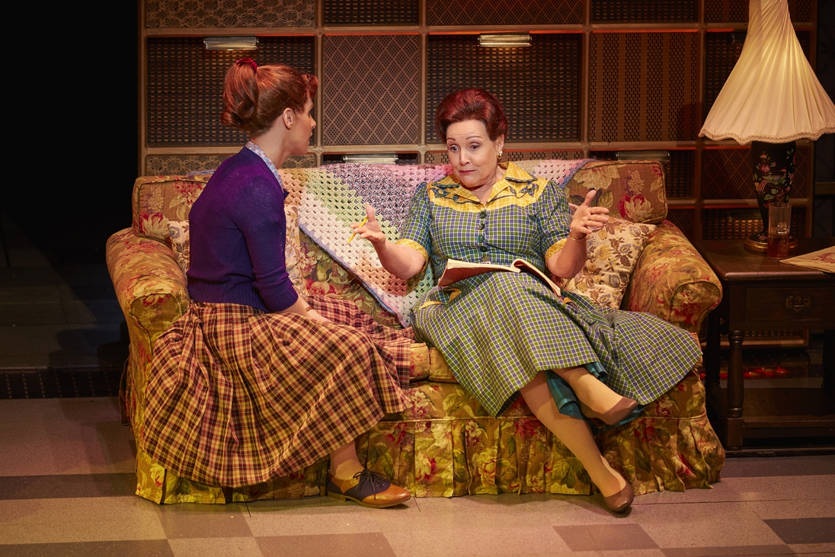 1. L-R Cassidy Janson (Carole King) and Diane Keen (Genie Klein) in Beautiful The Carole King Musical. Photo Credit Brinkhoff Moegenburg.