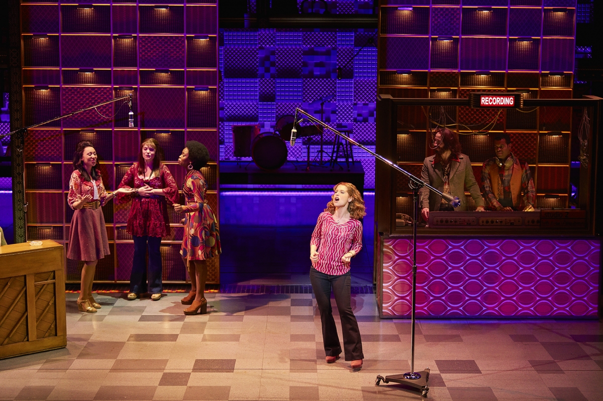 7. Cassidy Janson (Carole King) and Company in Beautiful The Carole King Musical. Photo Credit Brinkhoff Moegenburg.