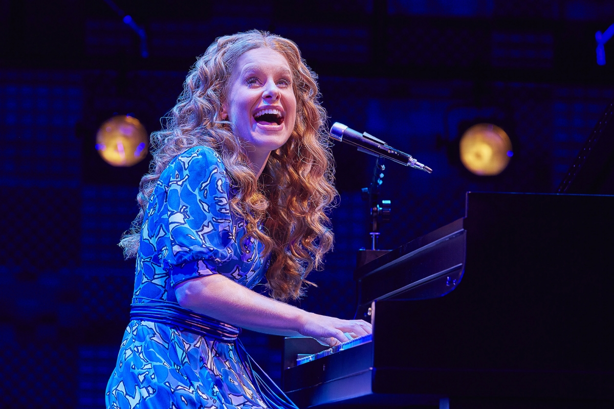 8. Cassidy Janson (Carole King) in Beautiful The Carole King Musical. Photo Credit Brinkhoff Moegenburg.