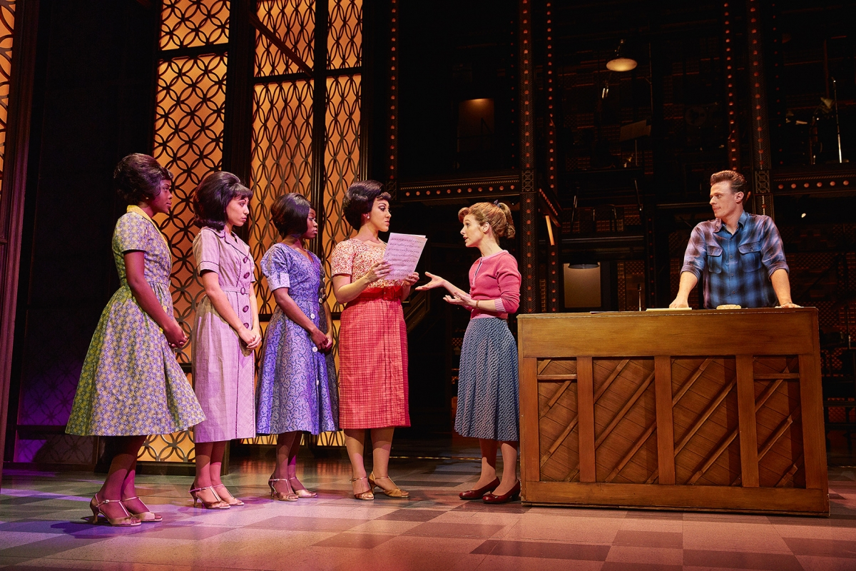 9. The West End cast of Beautiful The Carole King Musical. Photo Credit Brinkhoff Moegenburg.