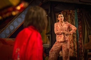Britten in Brooklyn 9 Ruby Bentall (Carson McCullers) Sadie Frost (Gypsy Rose Lee) Photo Marc Brenner