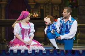 2.  Cinderella at the London Palladium