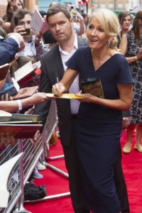 J.K. Rowling at the Opening Gala of Harry Potter and the Cursed Child. Photo Dan Wooller (7)
