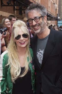 Morwenna Banks and David Baddiel at the Opening Gala of Harry Potter and the Cursed Child.   Photo credit Dan Wooller