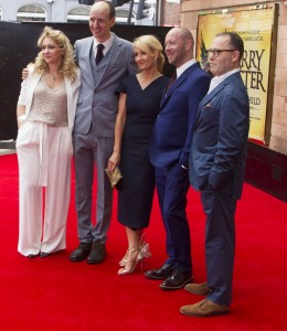 Sonia Friedman, Jack Thorne, J.K. Rowling, John Tiffany and Colin Callender Photo credit Dan Wooller