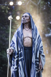 Cavin Cornwall as Caiaphas. Photo Johan Persson.