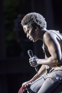 Tyrone Huntley as Judas. Photo Johan Persson. (3)