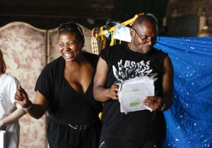 Moby Dick! The Musical - Brenda Edwards and Anton Stephans - Rehearsal Images - Photos by Pamela Raith Photography