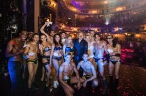 WEST END BARES - Graham Norton and the cast of West End Bares. Photo by Richard Davenport (2)