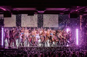 WEST END BARES - cast of West End Bares. Photo by Richard Davenport