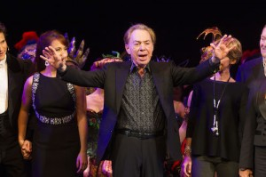 The Phantom of the Opera.  Andrew Lloyd Webber.  Photo by Dan Wooller