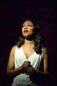 14. Beverley Knight (Rachel Marron) in The Bodyguard at the Dominion Theatre. Photo credit Alessandro Pina