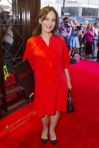Arlene Phillips at the gala night of The Bodyguard. Photo credit Dan Wooller