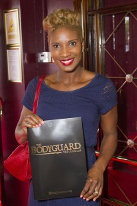 Denise Lewis at the gala night of The Bodyguard. Photo credit Dan Wooller