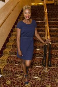 Denise Lewis at the gala night of The Bodyguard Photo credit Dan Wooller