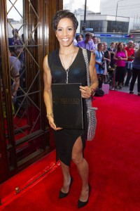 Kelly Holmes at the gala night of The Bodyguard. Photo credit Dan Wooller