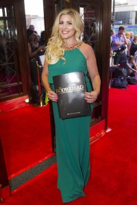 Kirsty Duffy at the gala night of The Bodyguard. Photo credit Dan Wooller