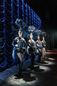 The Entertainer (Kenneth Branagh Theatre Company) - Kate Tydman (Dancer), Yasmin Harrison (Dancer), Lauren Alexandra (Dancer), Pip Jordan (Dancer) Credit Johan Persson 01302