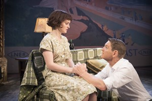 The Entertainer (Kenneth Branagh Theatre Company) - Sophie McShera (Jean Rice) Kenneth Branagh (Archie Rice) 03774