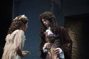 Ophelia Lovibond and Dominic Cooper in The Libertine. Credit Alastair Muir.jpg