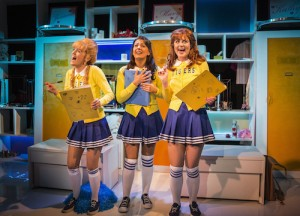 Vanities The Musical - Trafalgar Studios - Lauren Samuels, Ashleigh Gray and Lizzy Connolly -  Photo by Pamela Raith