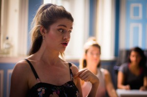Vanities The Musical - Rehearsal Images - Lizzy Connolly - Photo by Harry Elletson 2