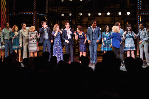 West End Wilma Carole King Surprises Cast Of Beautiful On