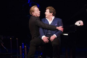 The Phantom of the Opera 30th Anniversary.  Andrew Lloyd Webber and Michael Ball.  Photo by Dan Wooller