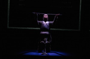 Gemma Arterton (Joan) in the Donmar Warehouse's production of Saint Joan. Dir Josie Rourke. Photo Jack Sain (5)