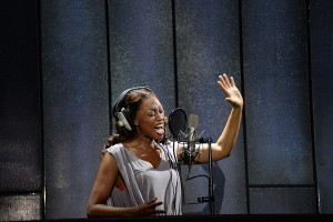 3. Beverley Knight (Rachel Marron) in The Bodyguard at the Dominion Theatre. Photo credit Alessandro Pina