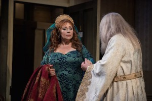 Harriet Thorpe and Ken Stott in The Dresser Credit Hugo Glendinning