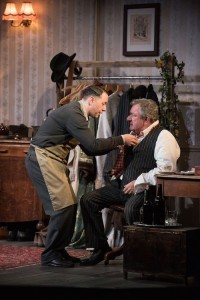 Reece Shearsmith and Ken Stott in The Dresser Credit Hugo Glendinning