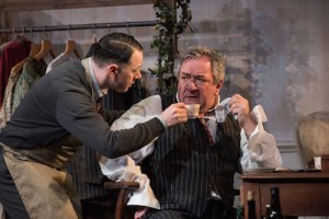 Reece Shearsmith and Ken Stott in The Dresser Credit Hugo Glendinning (2)