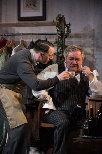 Reece Shearsmith and Ken Stott in The Dresser Credit Hugo Glendinning (3)