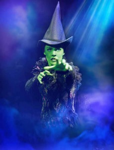 Rachel Tucker (Elphaba) Photo By Tristam Kenton Smoke Wicked-Recast-17-11-11-1561 RT